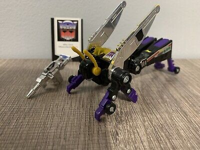 KICKBACK MINT 100% Complete 1985 Vintage 1985 Hasbro Transformers G1 Insecticon