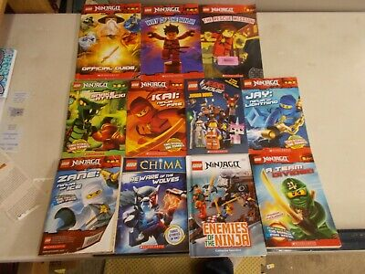 10 LEGO NINJAGO MASTERS SPINJITZU LEGENDS CHIMA MOVIE JUNIOR NOVEL