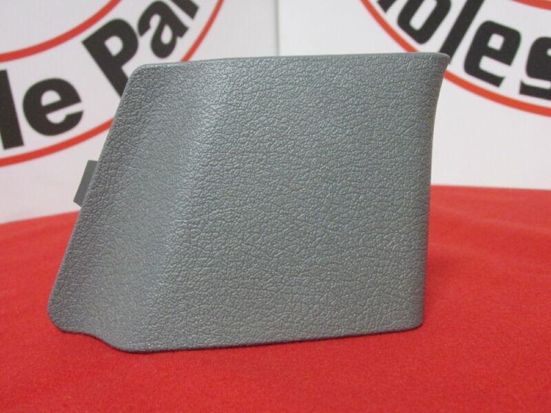 DODGE RAM 1500 2500 3500 Left Side Slate Gray Seat Belt Anchor Cover OEM MOPAR