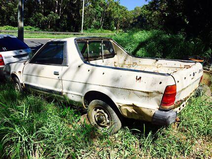 1987 Subaru Brumby 4x4
