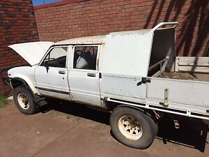 Hilux ute with Holden 6cyl blue motor lpg and unleaded Geraldton Geraldton City Preview