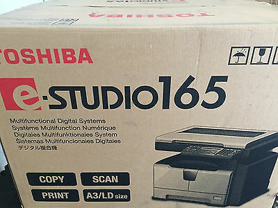 New Factory Sealed Toshiba E-studio 165 Copy Print Scan New In Box Nib