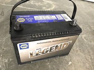 Battery, Napa Legend Pro line, 850 CA, like new, tests good