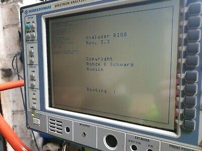 Rohde Schwarz Fsem30 1079.8500.35 Fse-b22 1106.3480.02 Spectrum Analyzer R4s3
