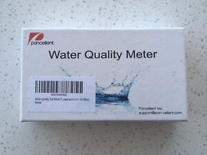 PancellWater Quality Meter [pH & TDS] - New, Never Used