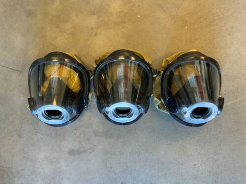 Scott AV-3000 Facepiece KevlarHeadNet Firefighter SCBA Mask Size Large AV3000