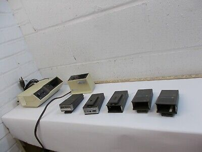 Vintage Motorola Voice  Pager Minitor One w Charger  & Bonus Case Police Fire