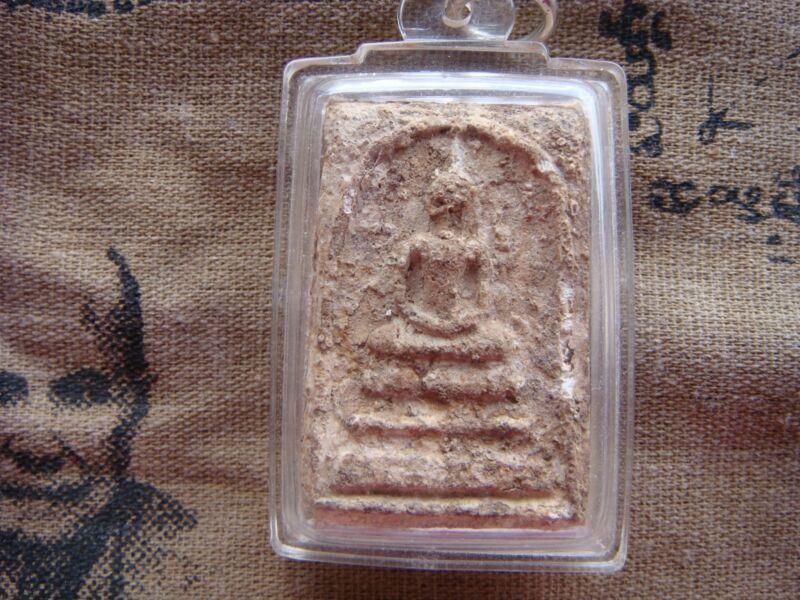 Old Phra SOMDEJ Wat Bangkhunprom LP Toh , Antique Buddha Thai Amulet