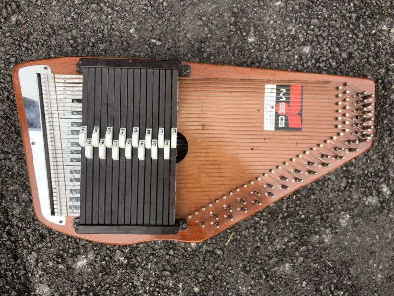 Vintage Autoharp Oscar Schmidt 15 chord 36 String With Case And Paperwork