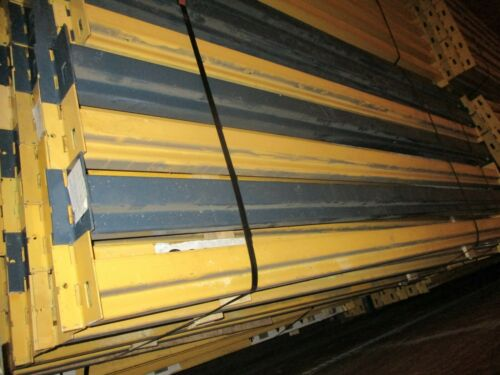 """Slotted Pallet Racking Single Beam 102"""" with (2) Clips Used"""