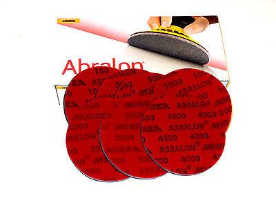 Abrasive Sanding Discs 6 Abralon Pads 180360 500 1000 2000 3000 4000 Grit
