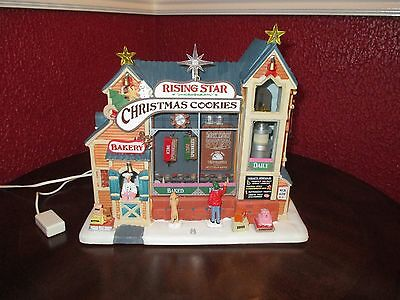 Lemax Village Collection - Rising Star Christmas Cookies Bakery