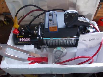 I-MAX 12000lb Electric Winch