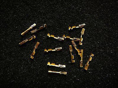 Amp 87667-1 Connector Socket 22-26awg Crimp Gold New Qty.10