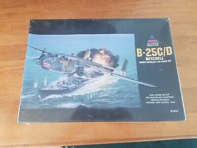 New Sealed Box Accurate Miniatures B-25C/D MITCHELL 1/48 #3431 Airplane