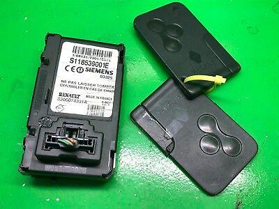 Renault Megane II Siemens Key Card Reader S118539001E, 8200074331A, S118651001