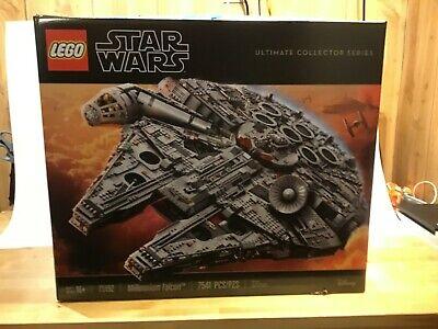 LEGO (75192) Star Wars Millennium Falcon - 7541 Pieces - New in Unopened Box