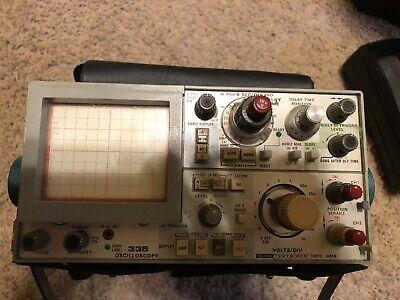 Sony 335 Tektronix Oscilloscope Wprobecase