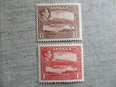 Antigua, Scott#85-86, MNH