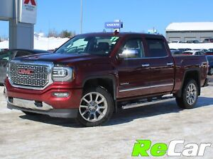 2017 GMC Sierra 1500 Denali HEATED/COOLED LEATHER | NAV