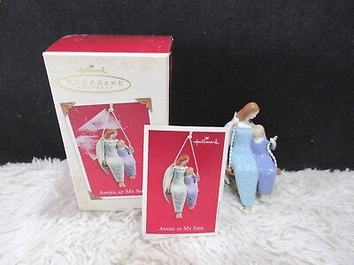 2003 Angel at My Side, Hallmark Keepsake Christmas Tree Ornament ()