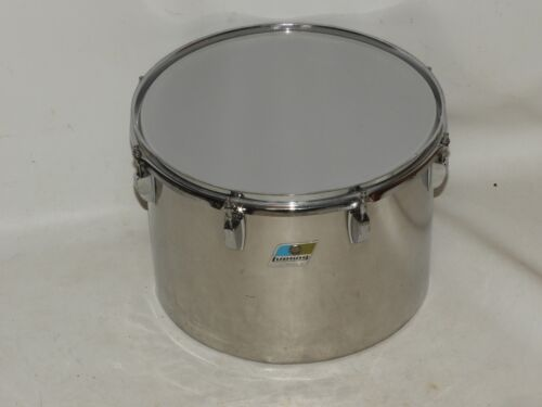 Ludwig Stainless Steel 10 x 14 Tom Drum Blue Olive # 1756451