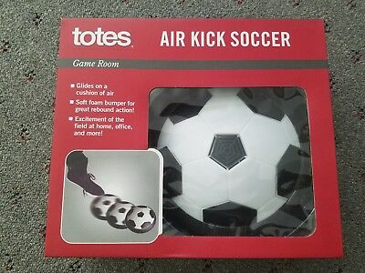 Totes Game Room Air Kick Soccer (Indoor Hover Soccer Soft Foam Bumper)