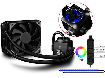DEEPCOOL CAPTAIN 120EX RGB Water Cooling System AIO CPU Cooler With RGB Lighting