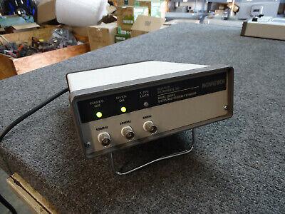 Novatech 2960ax Gps Disciplined Quartz Frequency Standard Sine Wave 10mhz 5mhz