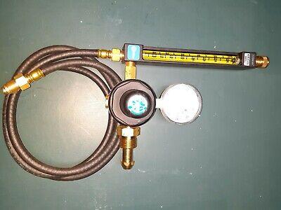 Miller 22-30-580 Argon Flowmeter Regulator With Gas Hose