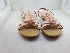 Girls Primark Sandals Size 12 Flower Design