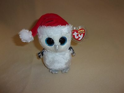 Ty Mwmt Tinsel The Christmas Owl Beanie Boo  6  Beanie Boos  Claires Exclusive