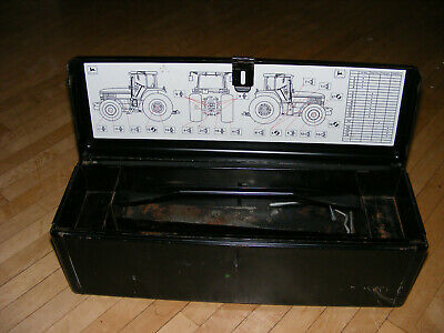 Original John Deere Tool Box Top Tray And Bracket