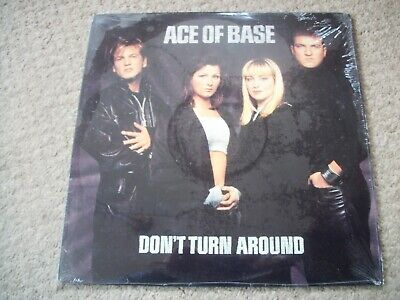 ACE OF BASE---DON'T TURN AROUND---EXTENDED PLAY VINYL