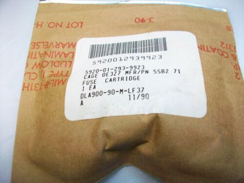 SIEMENS ORIGINAL DIAZED  20 A.  500 V  BOTTLE FUSE  NSN 5920-01-293-9923