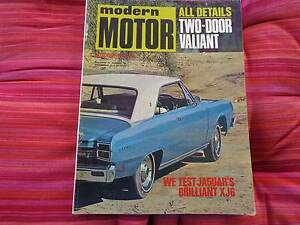 Modern Motor October 1969 Centenary Heights Toowoomba City Preview
