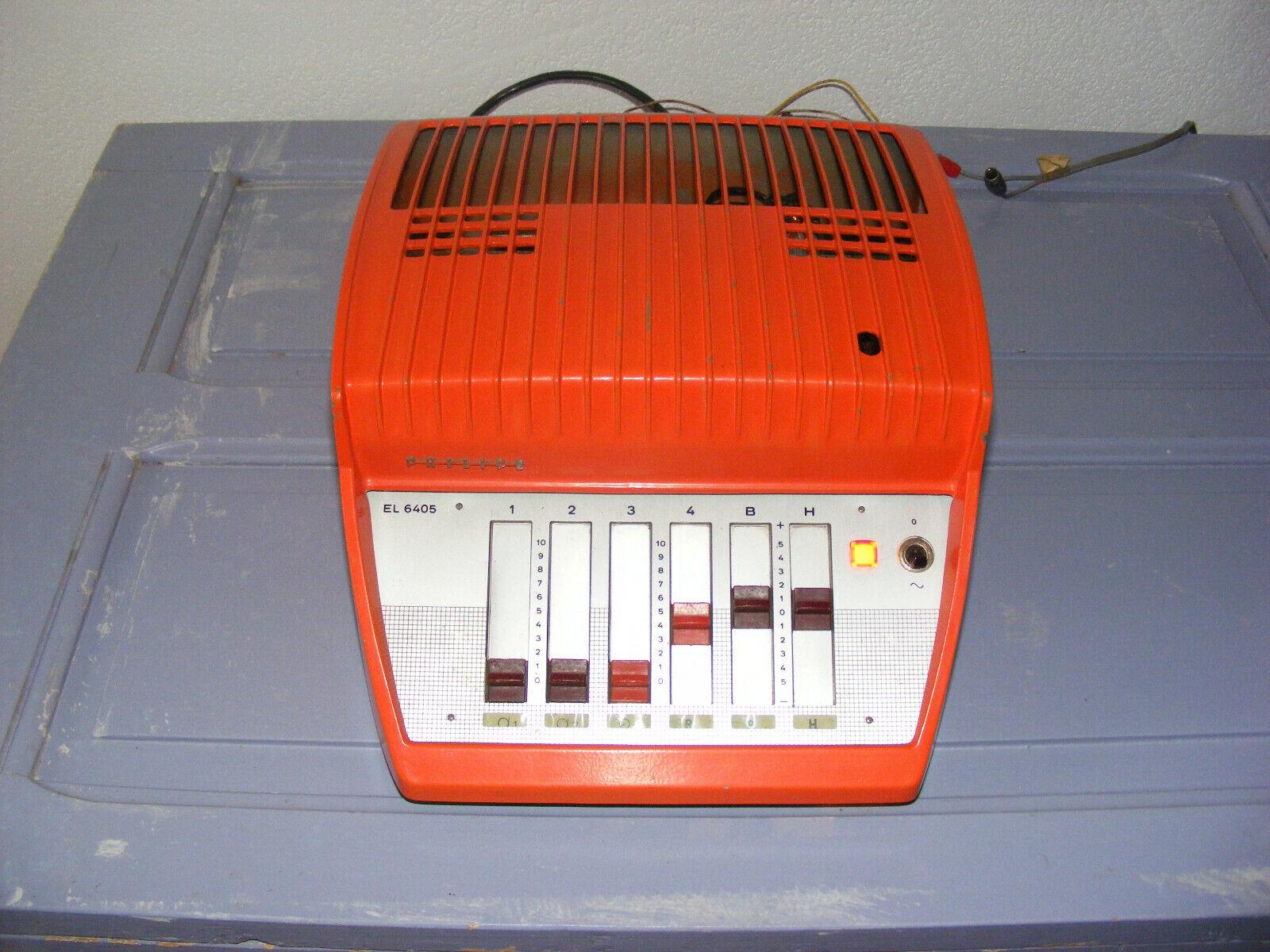 Ampli à tubes à lampes phillips el6405 vintage hi-fi
