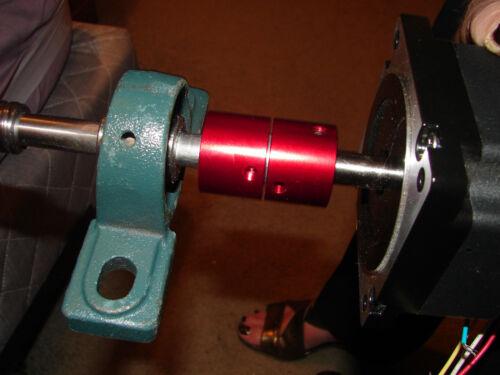 CNC STEPPER Servo MOTOR COMPLETE COUPLING USA bore and METRIC Bore Combination