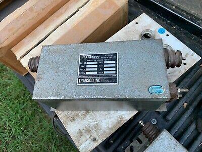 Transco Neon Sign Transformer T1527 15000v 30ma - 277vac Primary
