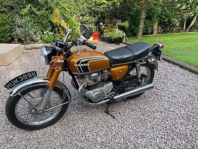 Honda cb250k1 classic Honda uk model