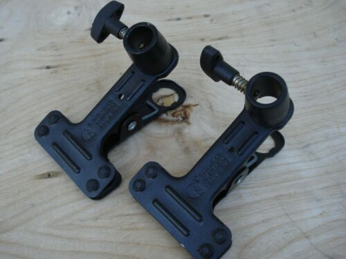 1 pair Set Manfrotto 275 Mini Clip Clamp Spring (#2891) Black - 2 Pack FREE SHIP