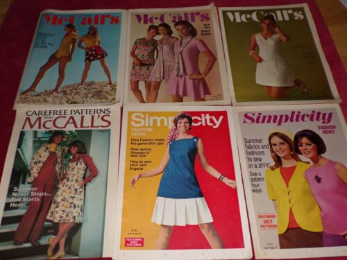 💐 LOT OF 6 SIMPLICITY & McCALL