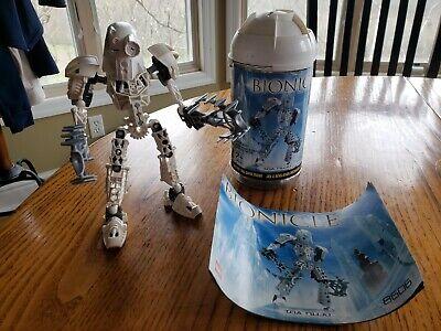 LEGO Bionicle Toa Metru Nuju (8606) 100% COMPLETE w/ CANISTER