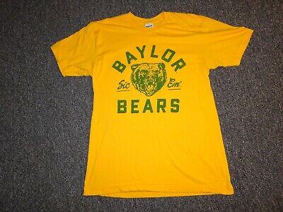 "BAYLOR BEARS TSHIRT M ""SIC EM"" PRE OWNED"