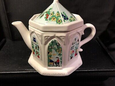 Wade English Life Teapots Conservatory Teapot Barry Smith Barbara Wootton for sale  Indianapolis