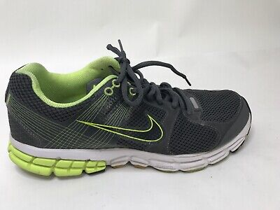 b512626e5d Mens Nike Air Zoom Flywire Size 10.5 Running Shoes Grey Green