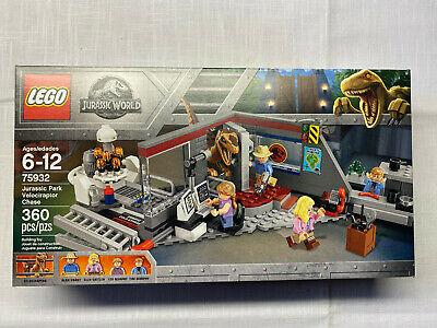 LEGO Jurassic World Set 75932 - Jurassic Park Velociraptor Chase - New