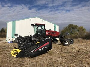 2015 M155 D65-D  SWATHER LOW HOURS