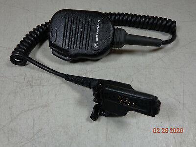 Motorola Xts2500 Vhf Xts1500 Uhf Mt2000 Jt1000 Radio Speaker Mic Nmn6193c