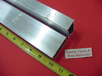 2 Pieces 1x 2x 18 Wall Aluminum Rectangle Tube 6063 T52 X 10 Long .125 W